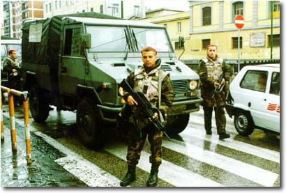 Esercito in ser. di polizia