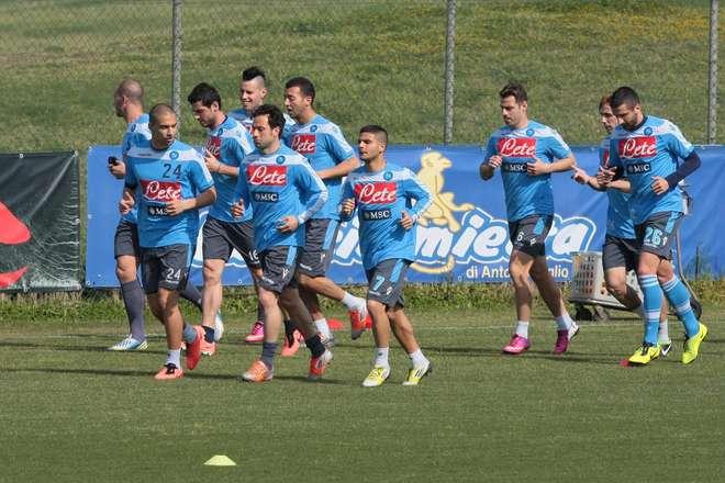 allenamento Napoli