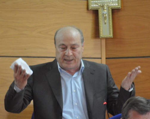 Il presidente Guido Navarra