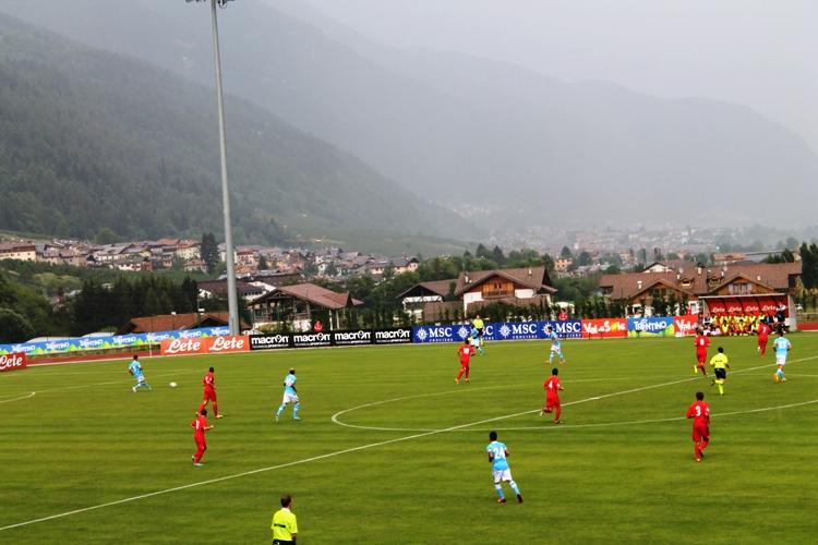 Amichevole Napoli vs Carpi foto Dimaro by cs