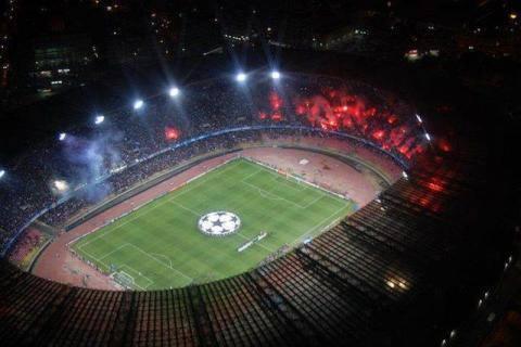 San Paolo Champions in festa