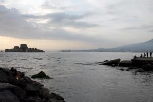 Torre Annunziata, Località Rovigliano (NAPOLI): Pesca alla foce