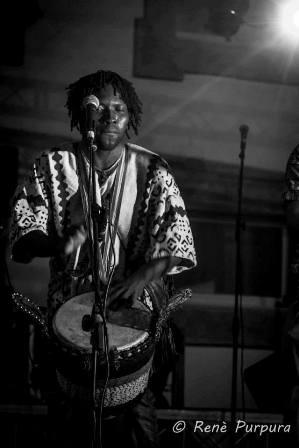 Uno degli artisti che si esibiranno: Bifalo Kouyate (Fonte Facebook)