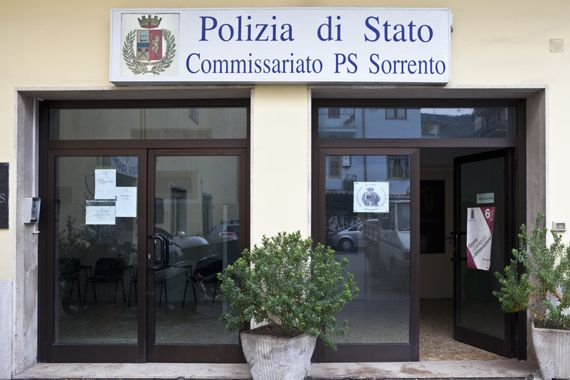 polizia sorrento