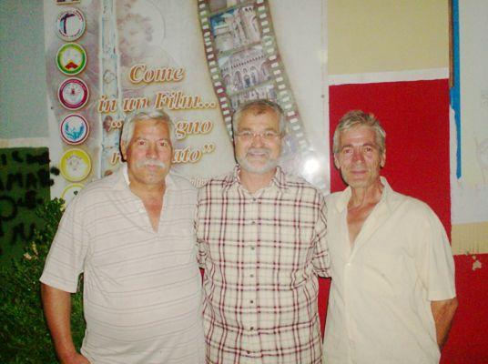 Ferninando Palladino, Antonio Castaldo, Mimmo Palladino. Brusciano, festa dei Gigli 2013