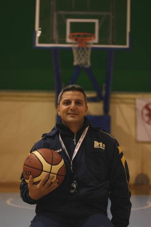 Donato Scognamiglio (coach in seconda T&T Stabia)