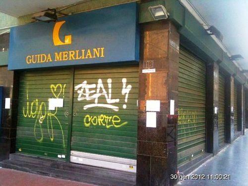 Napoli_libreria_Guida_Merliani_chiusa