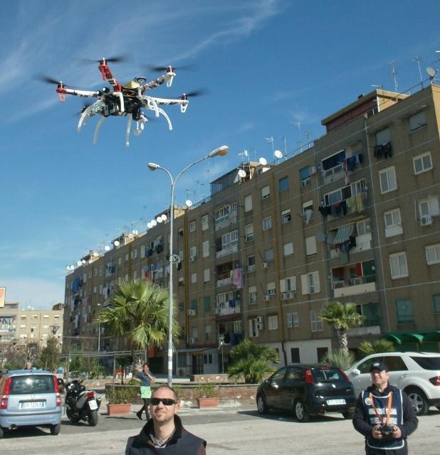 2. Drone AISA in Decollo a Brusciano 14.2.2014 (618x640)