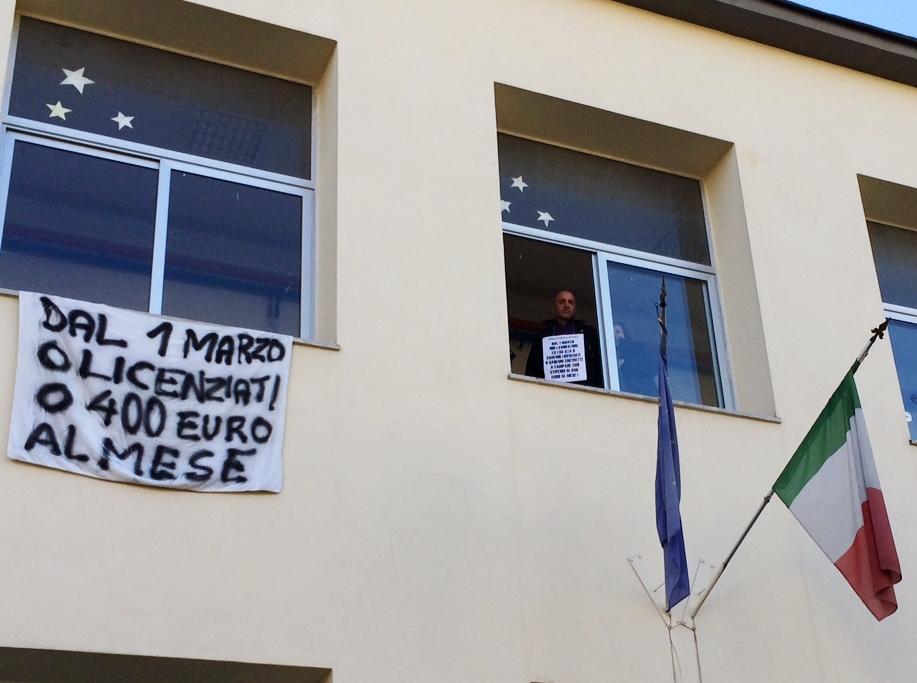 Protesta pompei
