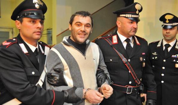 Italian Carabinieri escort Italy's most