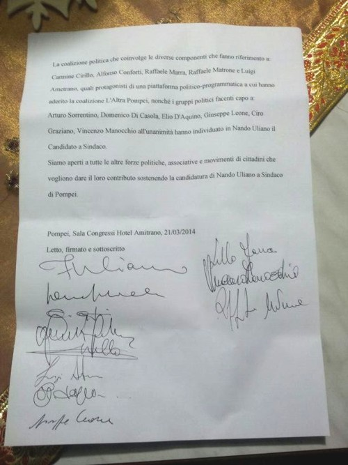 documento Uliano