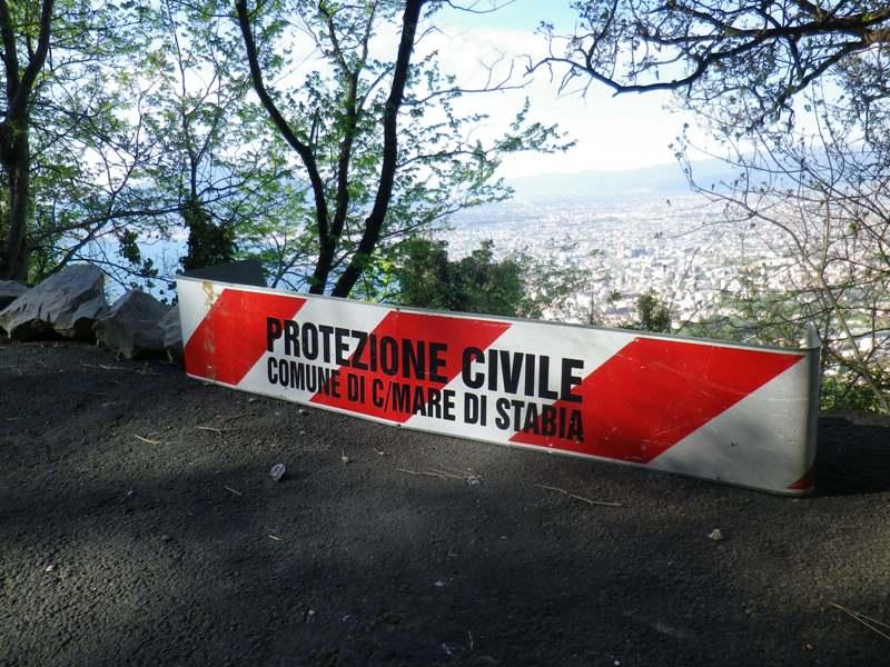 Monte Faito, segnaletica