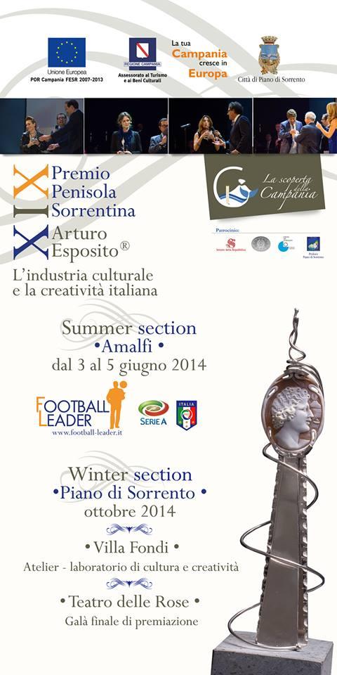 Locandina - Premio Penisola Sorrentina Arturo Esposito® 2014