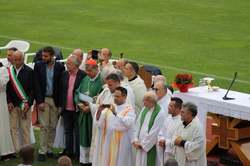 Cardinale Sepe a Dimaro