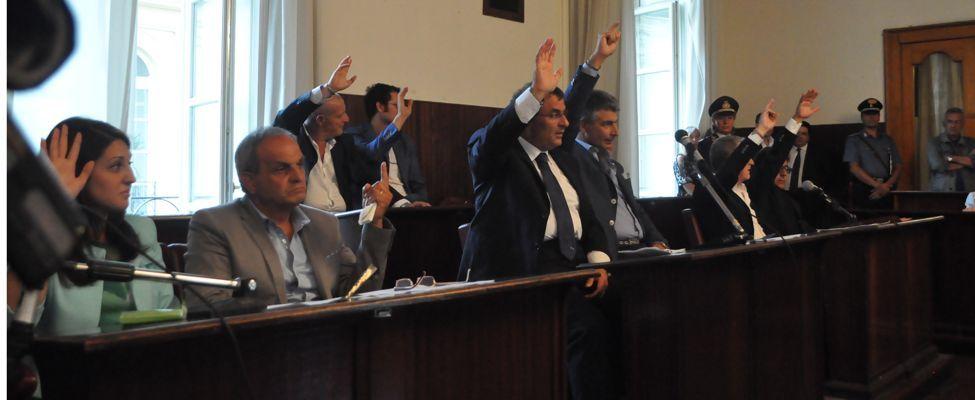primo consiglio comunale Pompei il voto