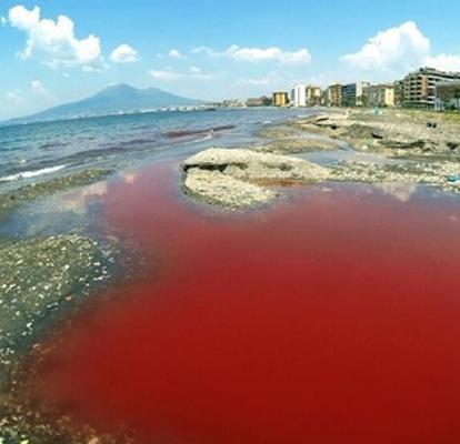 vernice rosso sangue
