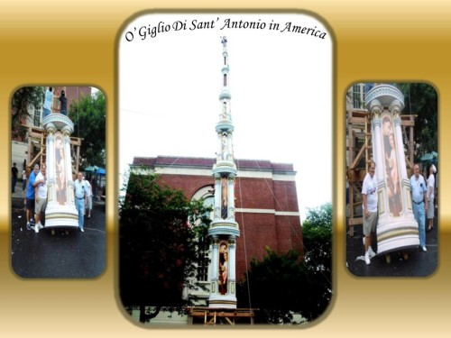 Giglio di Sant'Antonio East Harlem N.Y. USA
