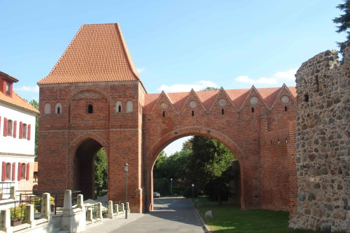 il castello dei cavalieri teutonici a Torun