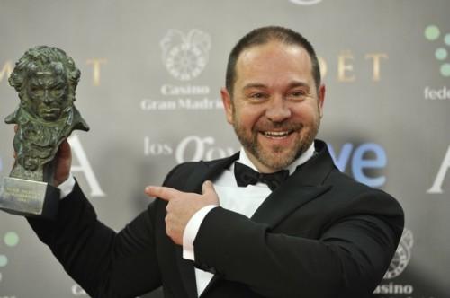 il regista Miguel Ferrari, vincitore nel 2012 del Premio Goya