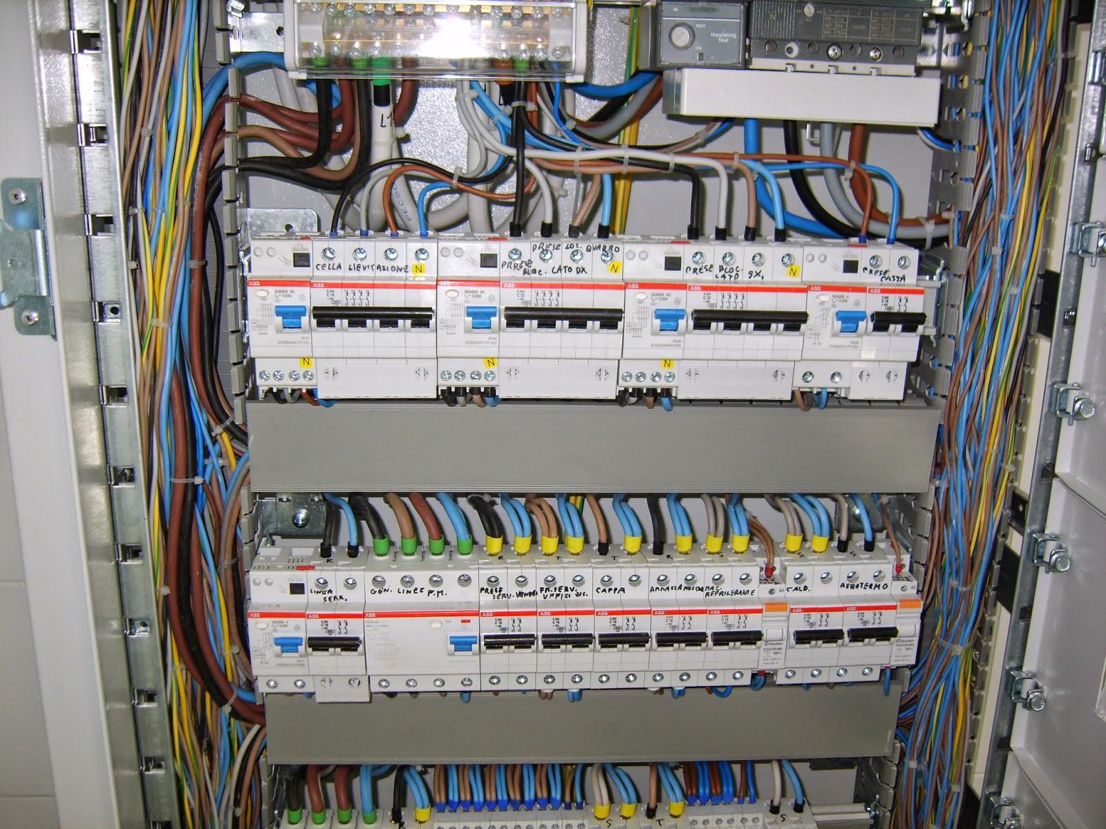 Schema Quadro Elettrico Per Appartamento : Furto al distretto sanitario sarno pagani danni per