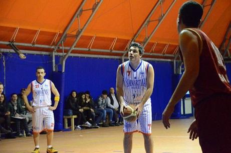 Antonio Carrino (play-guardia Sammaritana Basket)