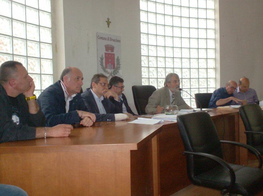 1. Conferenza Stampa  Aula Consiliare -Brusciano 16.5.2015