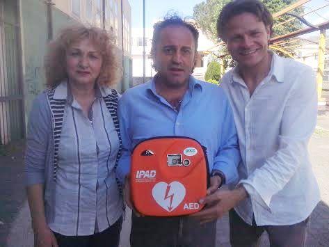 defibrillatore brusciano