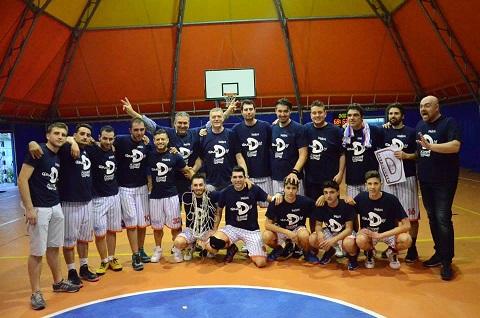 Sammaritana Basket festeggia la promozione in serie D