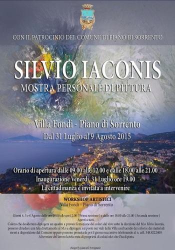 Manifesto - Mostra e workshop Silvio Iaconis