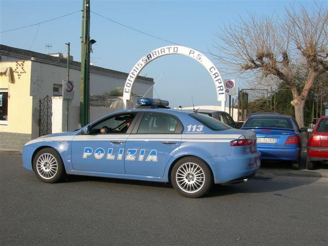 polizia commissariato capri