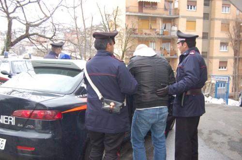 arresto carabinieri inverno