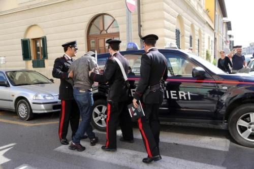 carabinieri arresto inverno