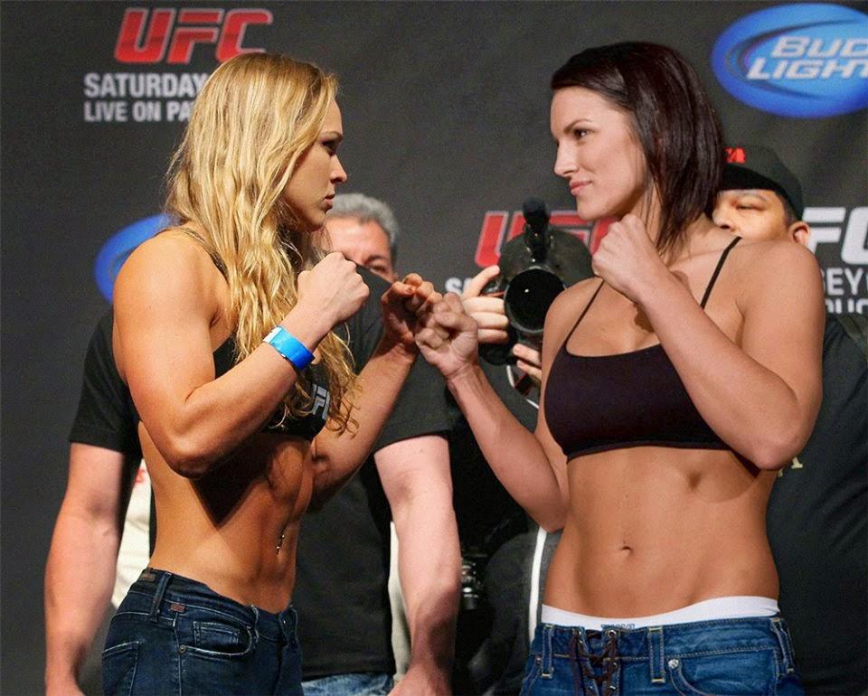 Donne_arti marziali miste_Ronda Rousey_Gina Carano_MMA_UFC