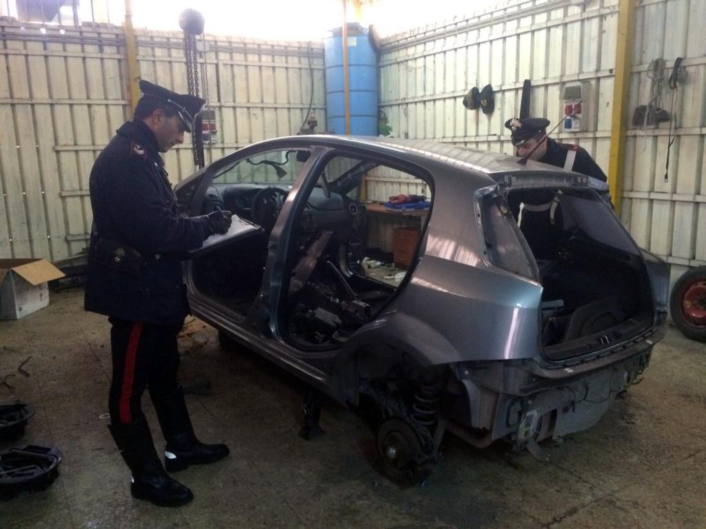 auto rubate San Sebastiano al Vesuvio 2