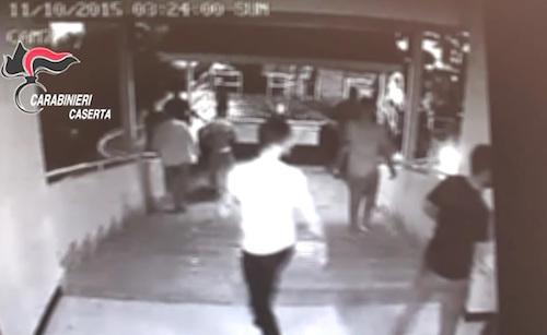 sparatoria discoteca villa literno