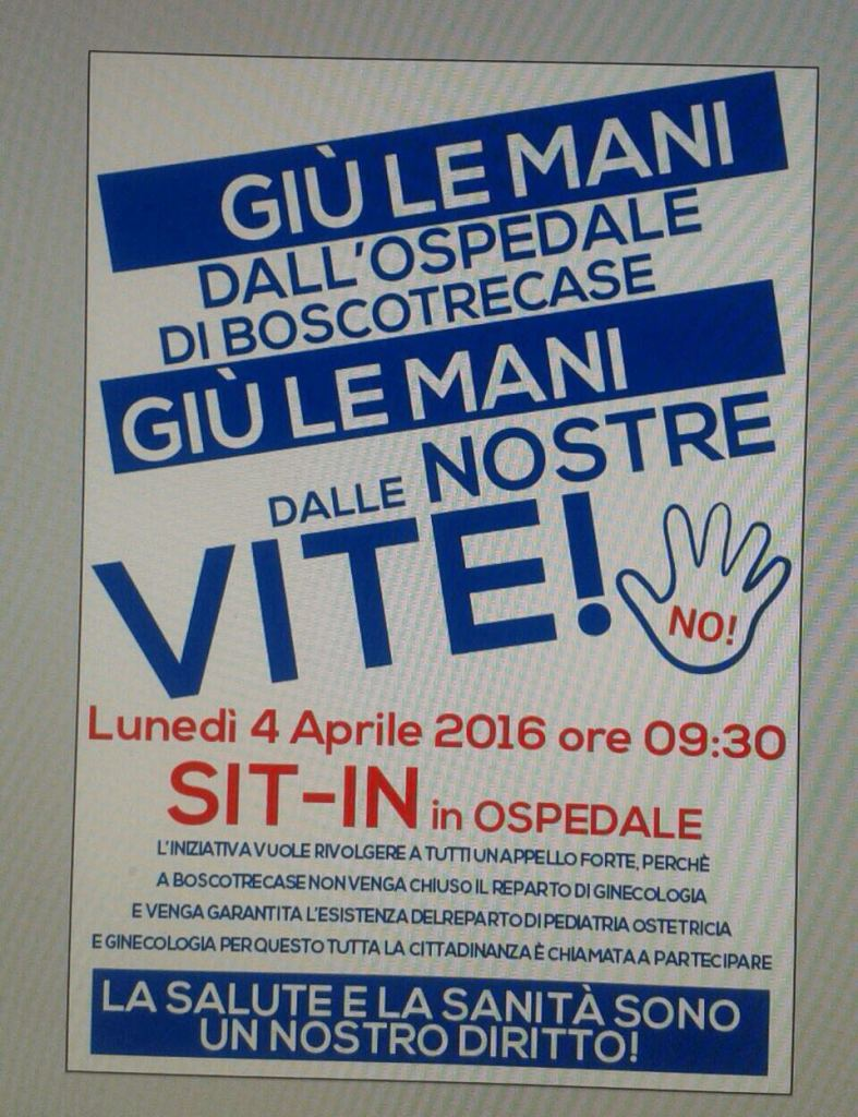 sit in ospedale
