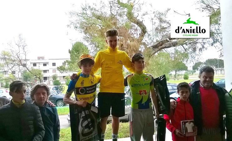 podio d aniello ciclismo