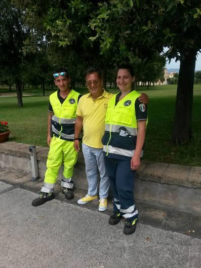 Peronale comunale e volontari PC Villa Favorita