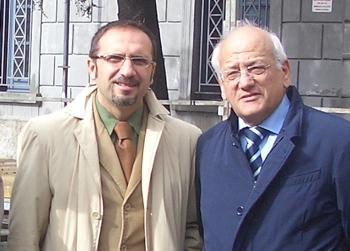 A sinistra Giuseppe Castiello (UdC) già assessore della giunta Tammaro