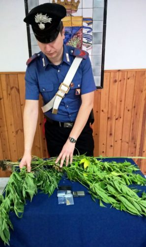 droga carabinieri  torre annunziata