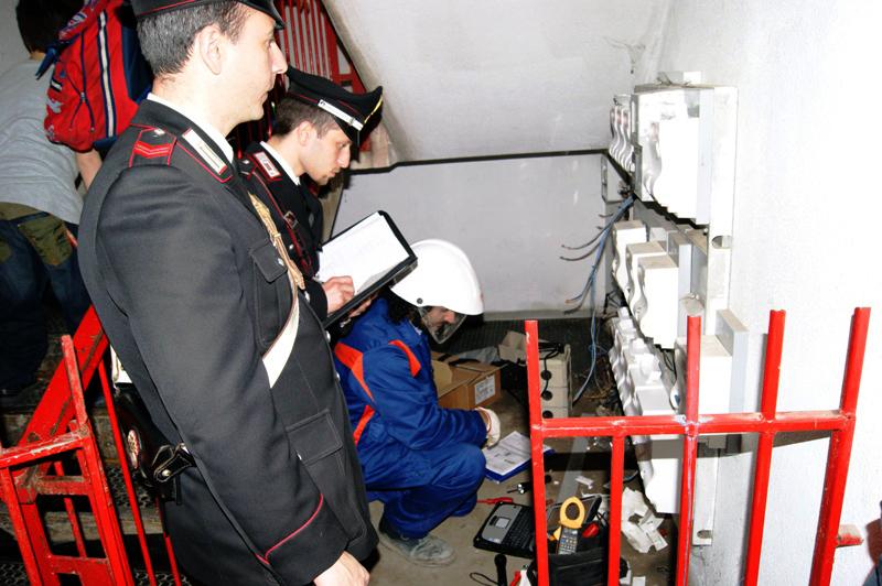 furti di elettricità Vomero/Arenella