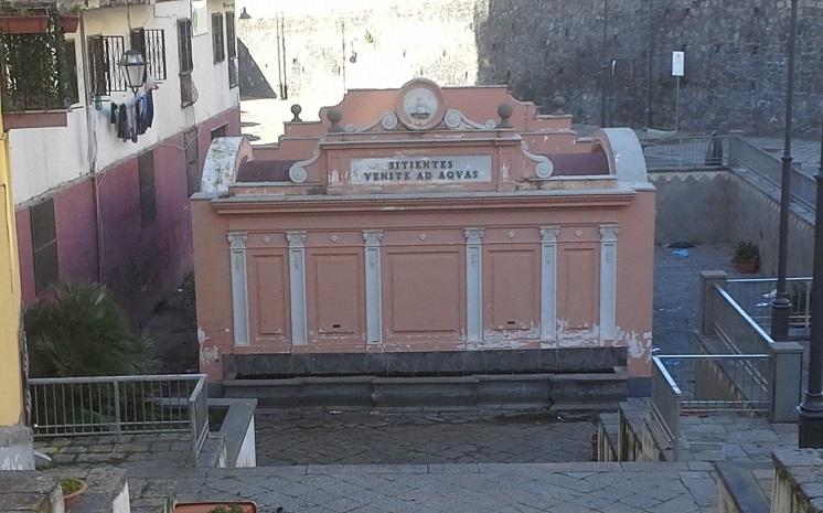 Torre del greco inaugurata oggi la terza casa dell 39 acqua - Fontane da casa ...