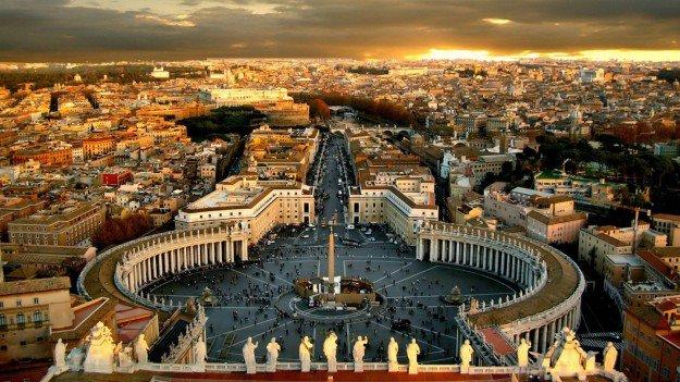 vaticano napoli roma