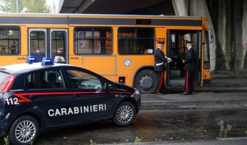 carabinieri bus
