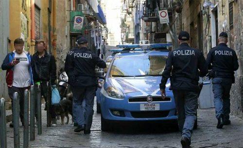 polizia droga basso quartieri