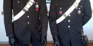 portici carabinieri tentato furto condominio