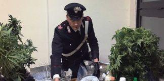 portici marijuana studenti carabinieri 3