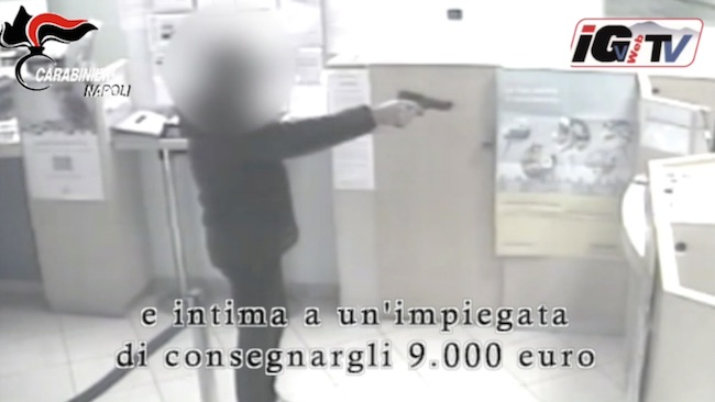 rapina banca caivano 1