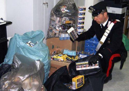 tabaccaio arrestato carabinieri