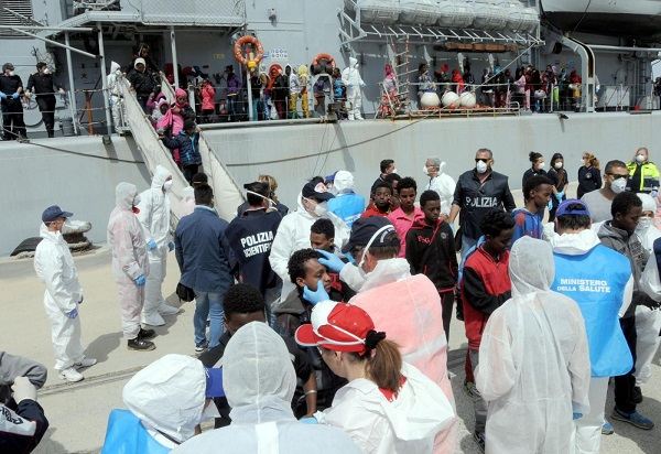 Salerno migranti